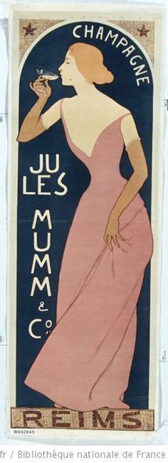 Champagne Jules Mumm Maurice Realier-Dumas