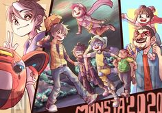 Boboiboy Galaxy, Anime Galaxy, Animation Series, 3d Animation, Boboiboy Anime, Super Powers, A Team, Comic Art, Digital Art