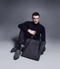 Jacob Coupe stars in the Fall/Winter 2012 campaign of Tiger of Sweden.