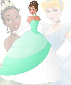 A new series in which I mix 2 disney princesses into 1 This is a mix ofCinderella and Tiana, her name isChantal Hope you like her Other combinations: Anna + Ariel :willemijn...