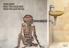 تبلیغ روز جهانی آب Original #Ad Image: World Water Day | Creative Ad #Awards#