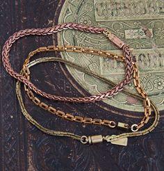 Erica Weiner // Plain Chain Bracelets
