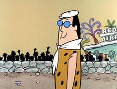 Cary Grant was 'immortalized' as Gary Granite in the Stone Age cartoon, The Flintstones