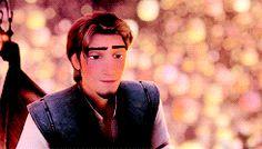 Rapunzel and Flynn from Disney's movie Rapunzel