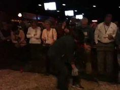 NTCA Members racing armadillos at the FRS Fund-Raising Event at Gilley's Dallas
