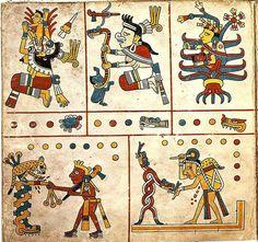 precolumbian Mayan Codex