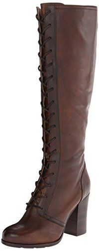 FRYE Women's Parker Tall Lace-Up Riding Boot,Dark Brown,9.5 M US FRYE http://www.amazon.com/dp/B00IMIBBUU/ref=cm_sw_r_pi_dp_.jNwub13ZVMAJ