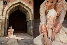 Cream Wedding Suit Party Indian Bollywood Designer Anarkali Salwar Kameez 1787…