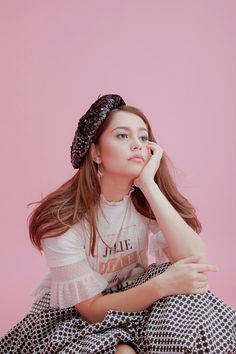Jessy Mendiola Is Not the Barbie Girl You Think She Is Thinking Pose, Girl Thinking, Fashion Photography Poses, Girl Photography, Filipino Models, Filipina Beauty, Body Poses, Girl Poses, Pose Reference