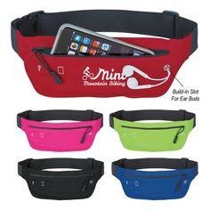 Custom Lycra Running Belt Fanny Pack   InkHead.com