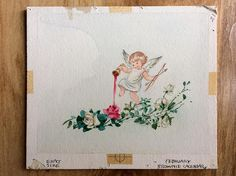Original Greeting Card Art by Erica Von Kager Brownie Calendar