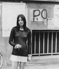 Learning to Struggle: My Story Between Workerism and Feminism  The author standing in front of Potere Operaio graffiti, June 1972.