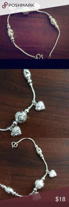 Silver bracelet Silver bracelet ! New from Thailand I have more so pls let me know if you like to bundle Jewelry Bracelets