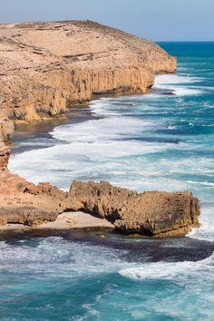 Stunning coastline at Elliston along the Eyre Peninsula of South Australia