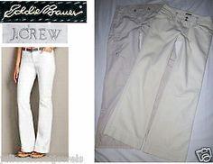 MINT Eddie Bauer Wide Leg Trousers + BONUS J Crew Favorite Fit Khaki Cargo Pants 4