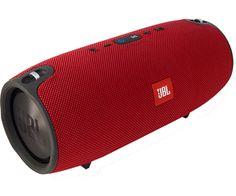 JBL Xtreme Red il super speaker Bluetooth a prova di spruzzi. Ha il microfono integrato ed ha un'autonomia che raggiunge le 15 ore!!