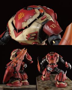 what an awesome work that it become, we got Crab Z'gok by eve  which has been in the top of weekly chart lately at modelers-g. An idea o...