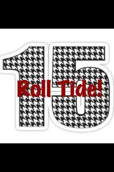 Roll Tide!!
