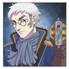New Critical Role art by Kit Buss: Percy the human gunslinger (or something...who knows at this point)