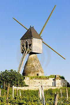 Windmill near Montsoreau France