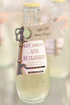 Bottle opener wedding favors