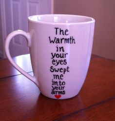 Mumford and Sons - Lyrics Coffee Mug on Etsy, $8.49 CAD