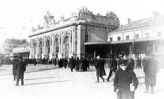 La vecchia stazione centrale