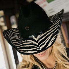 CHARLIE 1 HORSE - Charlie 1 Horse Flash Back Felt Cowgirl Hat - NRSworld.com