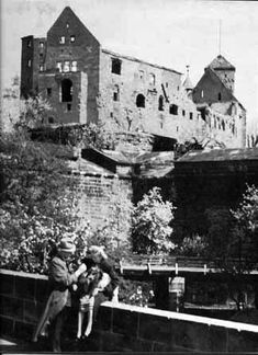British bomb destruction of Nürnberg, Germany - Nuremberg