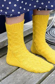 Trigonometric by Maria Näslund   #socks #knit