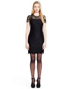 Pacey Lace Dress - Black Label  Evening Dresses - RalphLauren.com