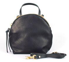 Eleven Thirty Anni mini shoulder bag - BLACK on Garmentory Meraki, Mini Bag, Fashion Backpack, Backpacks, Zipper, Shoulder Bag, Handbags, Boutique, Leather