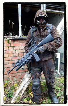 Wasteland airsoft outfit | Flickr - Photo Sharing!