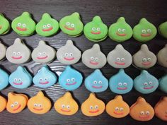Sweet Soup, Dragon Quest, Slime, Goodies, Handmade Items, Sweets, Christmas Ornaments, Holiday Decor, Birthday
