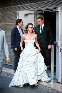 Emma Watson leaves 'The Circle' Premiere at Cinema UGC Normandie on June 21, 2017 in Paris, France.