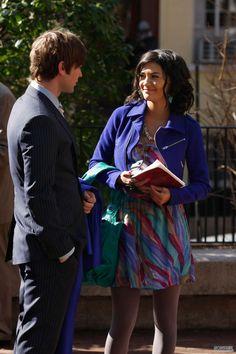 Gossip Girl Season 2. Nate Archibald, Vanessa Abrams.