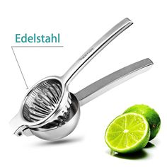 Buy Lemon Squeezer, Manual Citrus Press Juicer Premium Quality Stainless Steel squeezer at Wish - Shopping Made Fun Fruit Juicer, Citrus Juicer, Cocktail Shaker, Drinking Lemon Juice, Lemon Press, Hand Juicer, Manual Juicer, Electric Juicer, Grilling
