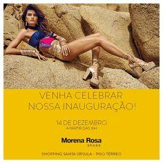 Morena Rosa Shoes inaugura em Ribeirão Preto suas primeiras lojas próprias A marca abre lojas nos shoppings Santa Úrsula Iguatemi. Design, conforto e uma..