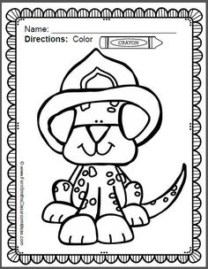 fire safety coloring pages dollar deal - Fun Printable Coloring Pages