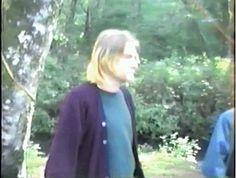 Kurt Cobain smiles & waves