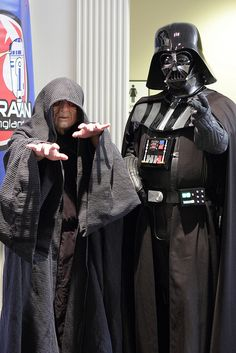 Emperor Palpatine and Darth Vader, photo by Firstpersonshooter.