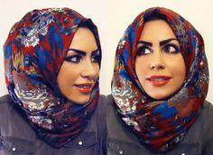 hijab with volume