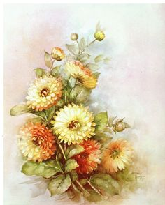 US $6.99 Used in Crafts, Home Arts & Crafts, Decorative & Tole Painting China Painting, Tole Painting, Calendula, Beautiful Flowers Wallpapers, Acrylic Painting Techniques, Decoupage Paper, Bottle Art, Book Of Shadows, Flower Wallpaper