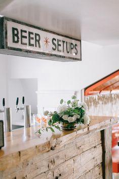 Niagara Oast House Brewers Pop Up Wedding Day. Flowers by: Bloom & Co Photo Cred: Nataschia Wielink Pop Up, Wedding Day, Bloom, Rustic, Flowers, House, Design, Decor, Pi Day Wedding