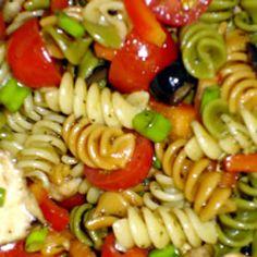 Greek Pasta Salad - Guess what I'm making tomorrow!