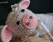 Piggy Hat, of course my niece will have this