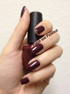 OPI Pepe's Purple Passion presented by Polish and Patience - www.PolishAndPatience.com