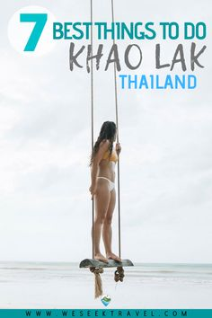 Khao Lak is a growing hotspot for backpackers to visit real South Thai Coastal Towns. Check out the guide for the 7 best things to do in Khao Lak, Thailand. Thailand Travel, Asia Travel, Her Packing List, Muay Thai Training, Famous Waterfalls, Khao Lak, Things To Do, Good Things, Beach Trip