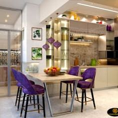 Mr. sunny roy's luxury modern kitchen | kolkata west bengal | cdi custom design interiors pvt. ltd. modern kitchen tiles amber/gold | homify Kitchen Ceiling Design, Kitchen Pantry Design, Kitchen Furniture, Kitchen Interior, Furniture Design, Design Interiors, Interior Design, Modern Kitchen Tiles, West Bengal
