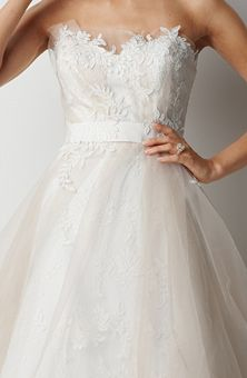 Brides: Watters Brides : Style No. Wedding Dress Gallery, Wedding Dress Pictures, Satin Tulle, Tulle Dress, Wedding Bridesmaid Dresses, Wedding Dress Styles, Dream Wedding, Sydney Wedding, Wedding Things